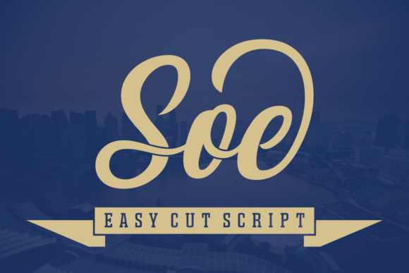 Print on Demand: Soe Script & Handwritten Font By Situjuh - Image 1