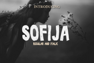 Download Free Sofija Font By Vladimirnikolic Creative Fabrica for Cricut Explore, Silhouette and other cutting machines.