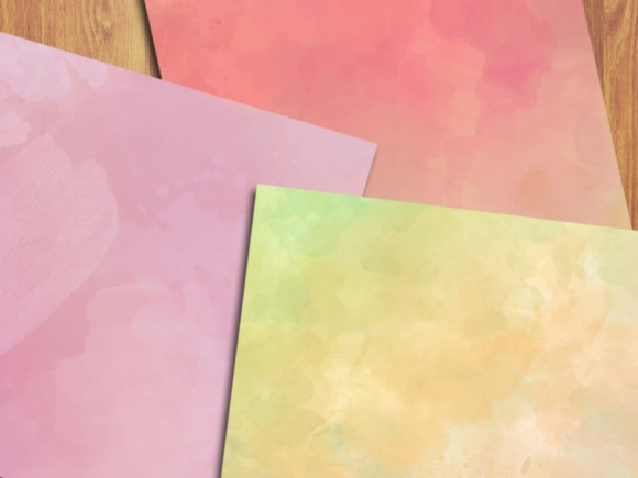 Soft Watercolor Digital Papers Graphic Backgrounds By GreenLightIdeas - Image 3