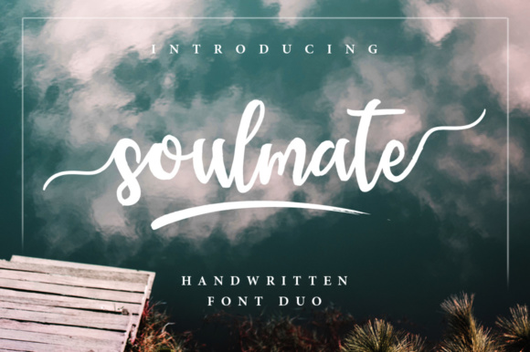 Print on Demand: Soulmate Script & Handwritten Font By Sizimon