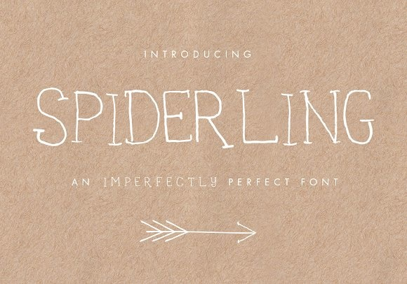 Print on Demand: Spiderling Script & Handwritten Font By Bloom and Briar