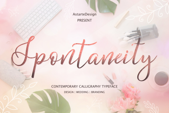 Print on Demand: Spontaneity Script & Handwritten Font By tregubova.jul