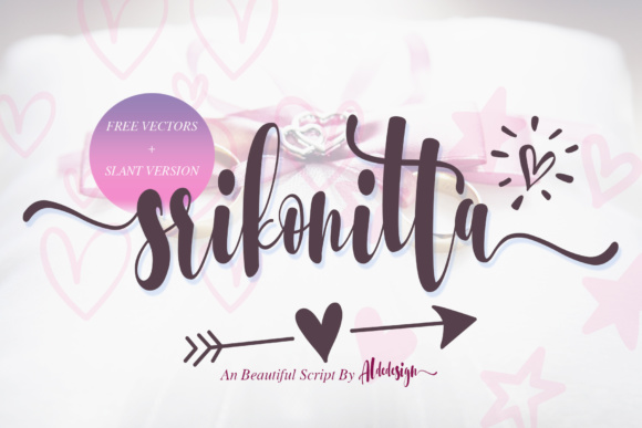 Download Free Parallove Font By Aldedesign Creative Fabrica for Cricut Explore, Silhouette and other cutting machines.