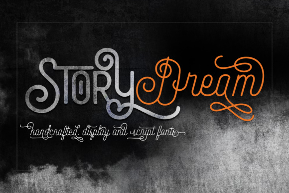 Print on Demand: Story Dream Script Script & Handwritten Font By joelmaker