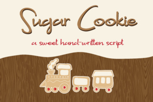 Download Free Sugar Cookie Font By Illustration Ink Creative Fabrica for Cricut Explore, Silhouette and other cutting machines.