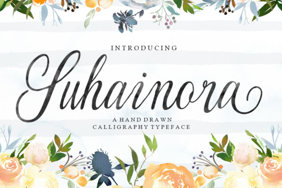 Print on Demand: Suhainora Script & Handwritten Font By Picatype Studio