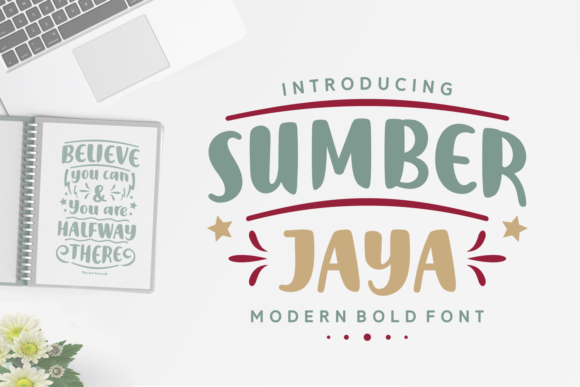 Print on Demand: Sumber Jaya Script & Handwritten Font By Keithzo (7NTypes) - Image 1