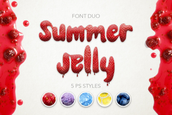 Print on Demand: Summer Jelly Script & Handwritten Font By Red Ink
