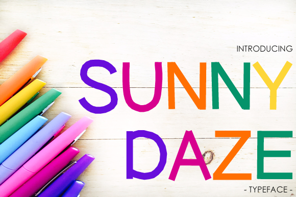 Print on Demand: Sunny Daze Sans Serif Font By yh.seaofknowledge - Image 1