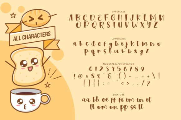 Sweet Bread Font Preview