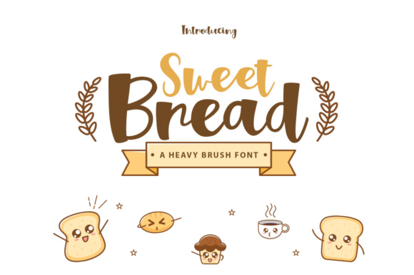 Print on Demand: Sweet Bread Script & Handwritten Font By Khurasan