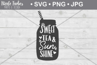 Download Free Sweet Tea Sunshine Svg Cut File Graphic By Nicole Forbes for Cricut Explore, Silhouette and other cutting machines.
