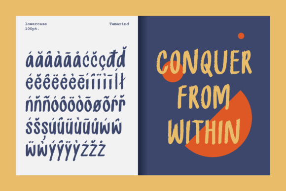 Print on Demand: Tamarind Sans Serif Font By Prangtip.me - Image 4