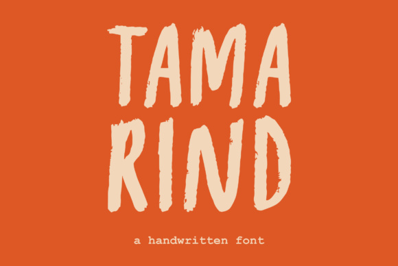 Print on Demand: Tamarind Sans Serif Font By Prangtip.me - Image 1