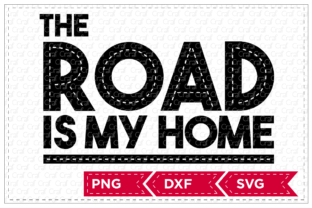 The Road is My Home Graphic By Craf Craf