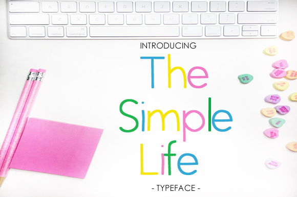Print on Demand: The Simple Life Sans Serif Font By yh.seaofknowledge