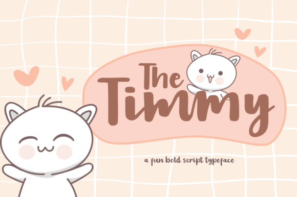 Print on Demand: The Timmy Script & Handwritten Font By Khurasan