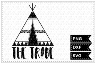 The Tribe Graphic By Craf Craf