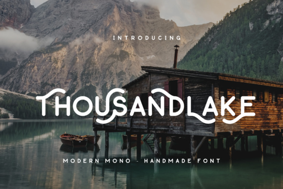 Print on Demand: Thousand Lake Script & Handwritten Font By Micromove