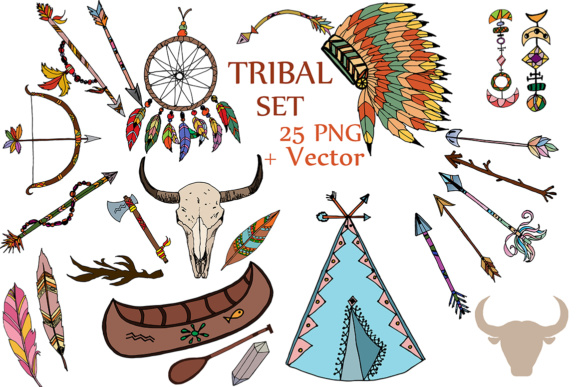 Download Free Tribal Clipart Tribal Clip Art Headdress Clipart Feather Clip Art for Cricut Explore, Silhouette and other cutting machines.