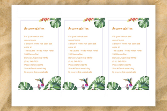Download Free Tropical Wedding Invitation Diy Graphic By Mystocks Creative for Cricut Explore, Silhouette and other cutting machines.