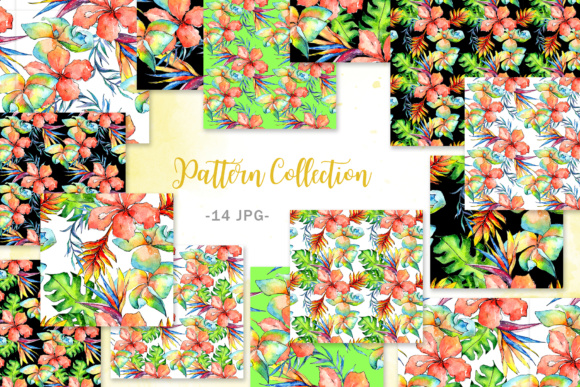 Tropical Plant PNG Watercolor Set Graphic By MyStocks Image 3
