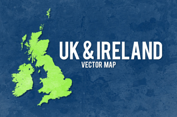 UK & Ireland Vector Graphic Crafts By Chequered Ink