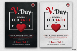 Valentines Day Flyer Template Graphic By ThatsDesignStore