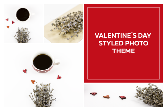 Valentine's Day Frame Mockups Graphic Product Mockups By dumitrasconiu.design - Image 1