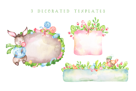 Very Merry Christmas Watercolor Set Graphic By tatianatroian.art Image 5