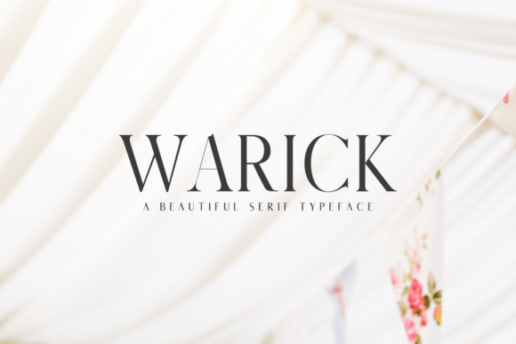 Print on Demand: Warick Serif Font By Creative Tacos