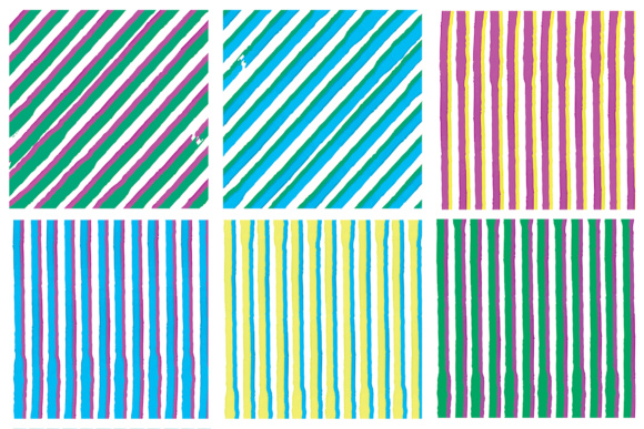 Water Color Stripes Graphic Patterns By Najla Qamber - Image 8