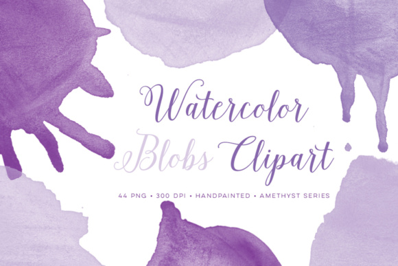 Watercolor Round Blob Graphics Drips Graphic Objects By By Lef