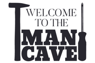 Welcome to the Man Cave Home Craft Cut File By Creative Fabrica Crafts
