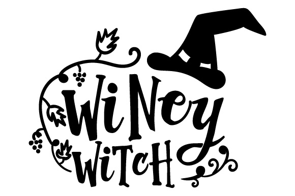 Download Free Winey Witch Svg Cut File By Creative Fabrica Crafts Creative for Cricut Explore, Silhouette and other cutting machines.