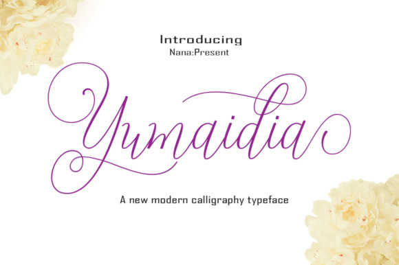 Print on Demand: Yumaidia Script & Handwritten Font By desinglabs91