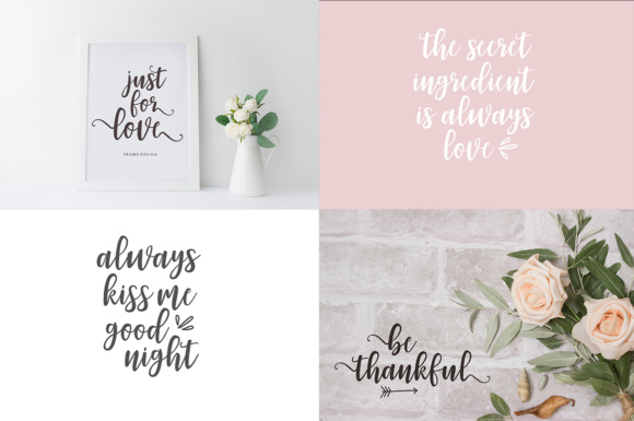 Print on Demand: Zahira Script & Handwritten Font By Youngtype - Image 4