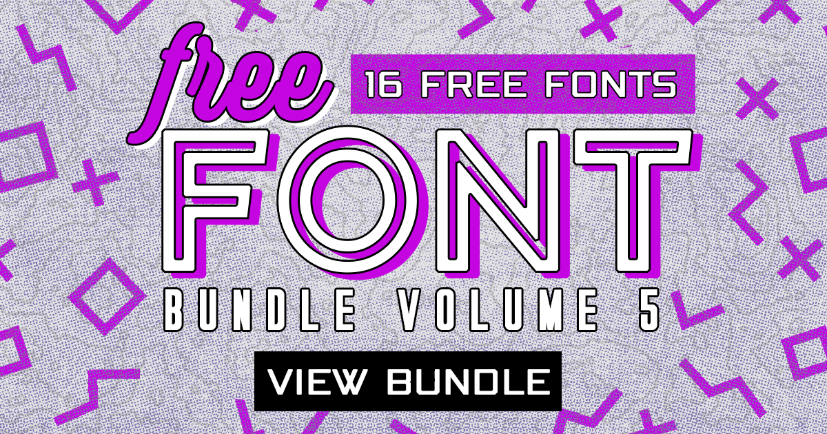 Download Free Font Bundle Vol. 5 - Creative Fabrica