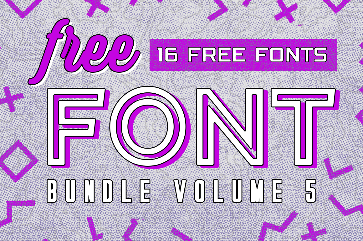Download Free Free Font Bundle Vol 5 Bundle Creative Fabrica for Cricut Explore, Silhouette and other cutting machines.