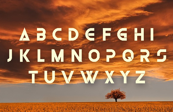 Print on Demand: Olga Display Font By vladimirnikolic - Image 9
