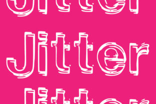 Print on Demand: Jitter Decorative Font By GraphicsBam Fonts