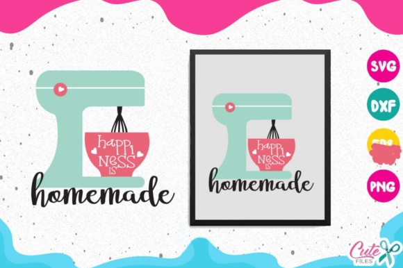 Kitchen Bundle Graphic Objects By Cute files - Image 6