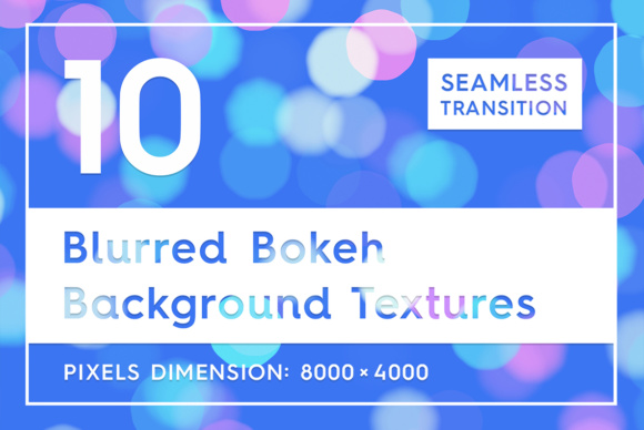 10 Blurred Bokeh Background Textures Graphic Backgrounds By Textures