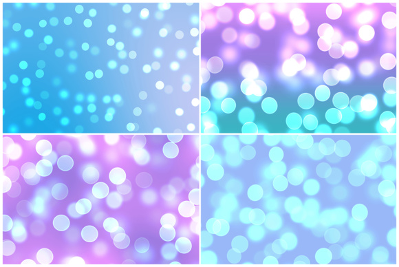 10 Bright Bokeh Background Textures Graphic Download