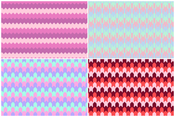 10 Chevron Geometry Backgrounds Graphic Download