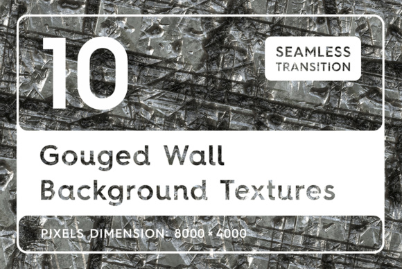 10 Gouged Wall Background Textures Graphic Backgrounds By Textures - Image 1