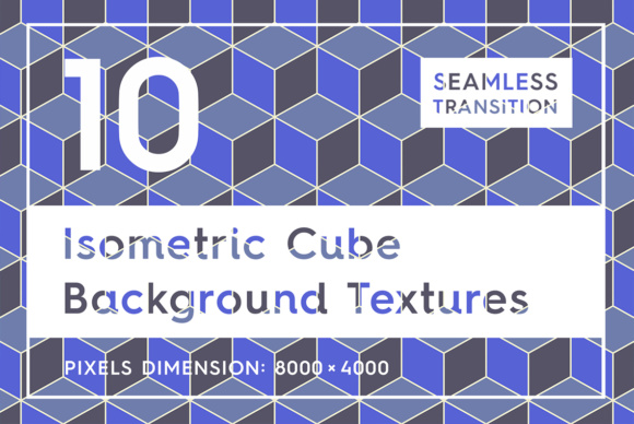 10 Isometric 3D Cubes Backgrounds Graphic Backgrounds By Textures