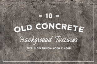 10 Old Concrete Background Textures Graphic By Textures