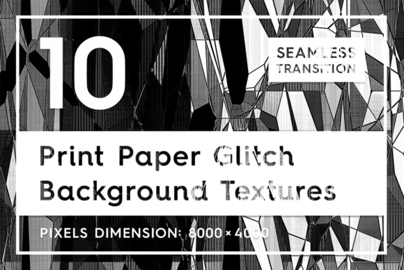 10 Print Paper Glitch Backgrounds Graphic Textures By Textures