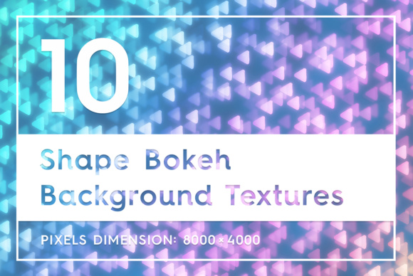 10 Shape Bokeh Background Textures Graphic Backgrounds By Textures